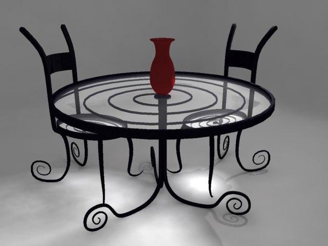 Curvy Table Set