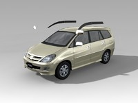 Toyota Innova 3D models