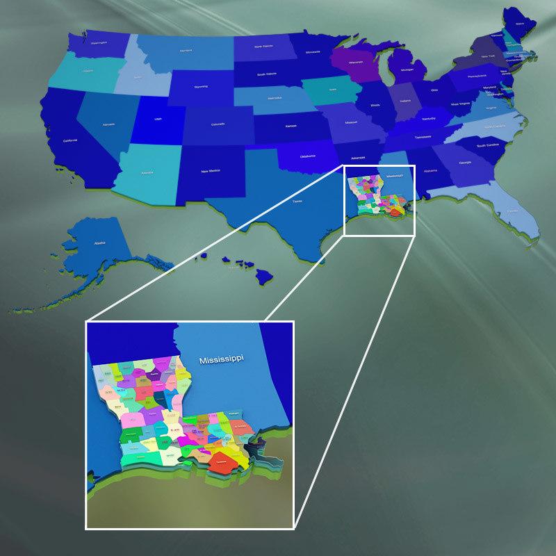 Louisiana counties