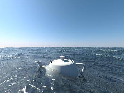 Ocean 3D Models