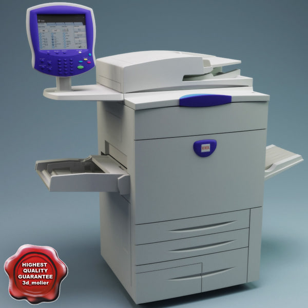 Xerox WorkCentre 7675 3D Models