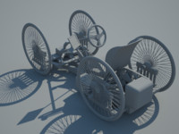 quadracycle 3D models
