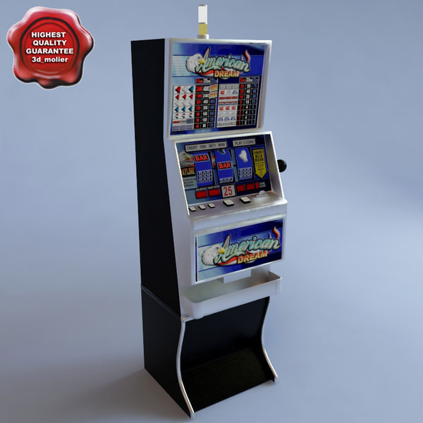 Slot Machine American Dream 3D Models