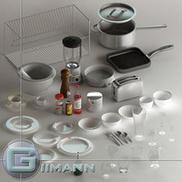 Hibachi Grill 3D models