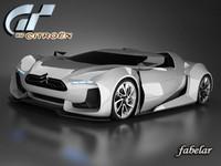 citroen GT 3D models