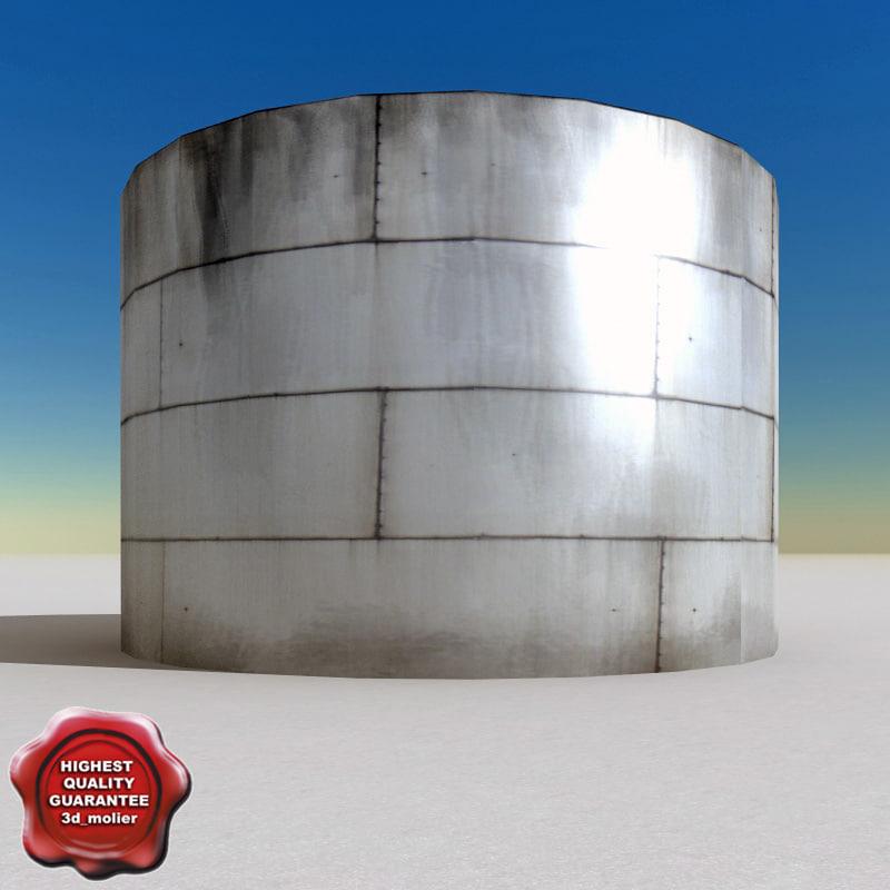 Oil tank V6