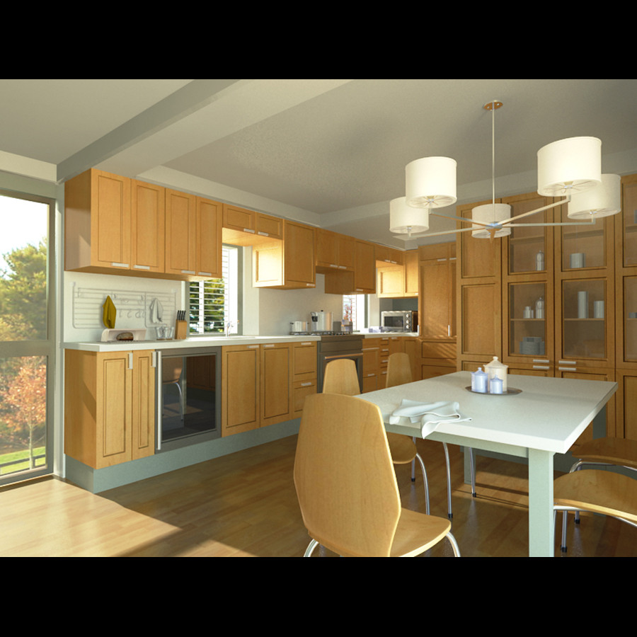 Maya Kitchen Room Modern