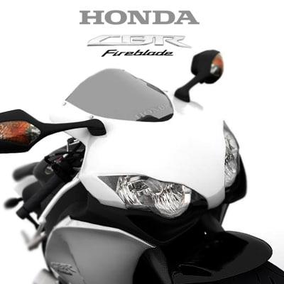 Honda CBR 1000RR Fireblade 2008 3D Models