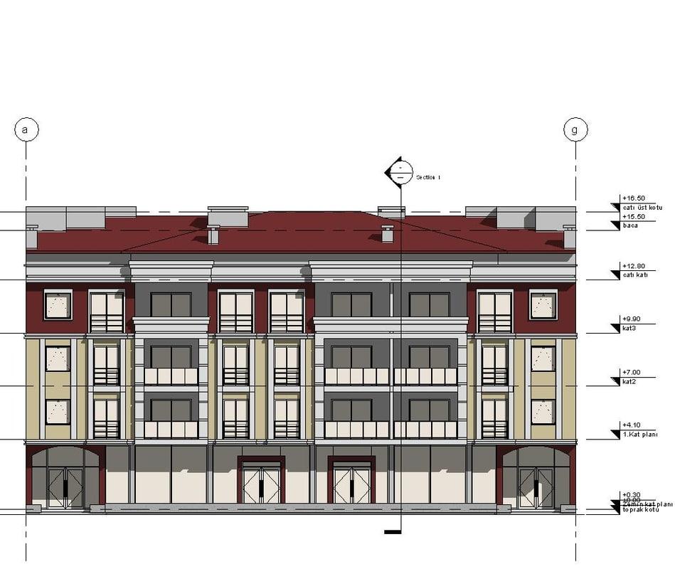 Apartment 3d model for Apartment model