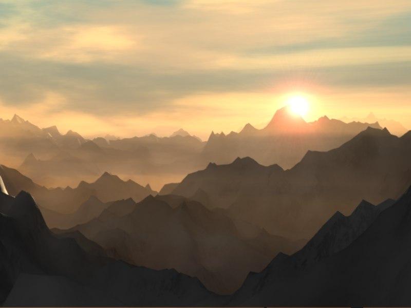 Mountain Scene.lws