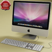 Apple iMac 20 3D models