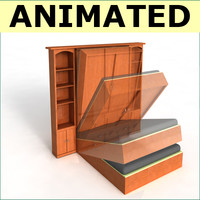 murphy bed 3D models