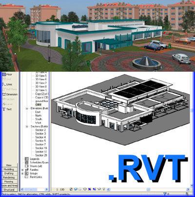 3d revit models max 3ds rfa rvt fbx