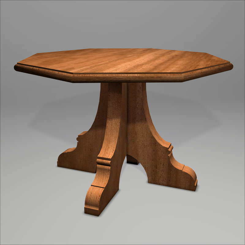 Gothic table 3d 3ds for Table 52 2014