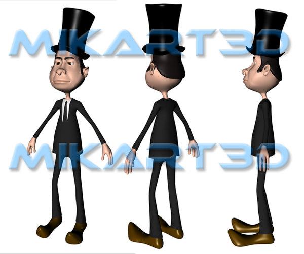 Gentleman 3D Models
