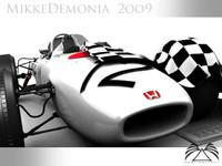 Honda F1 3D models