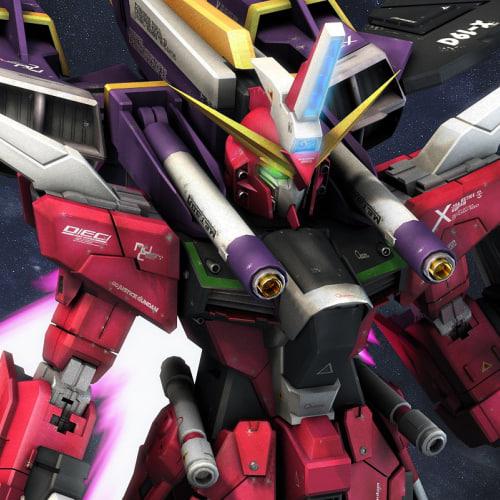 ZGMF-X19A Infinite Justice Gundam 3D Models