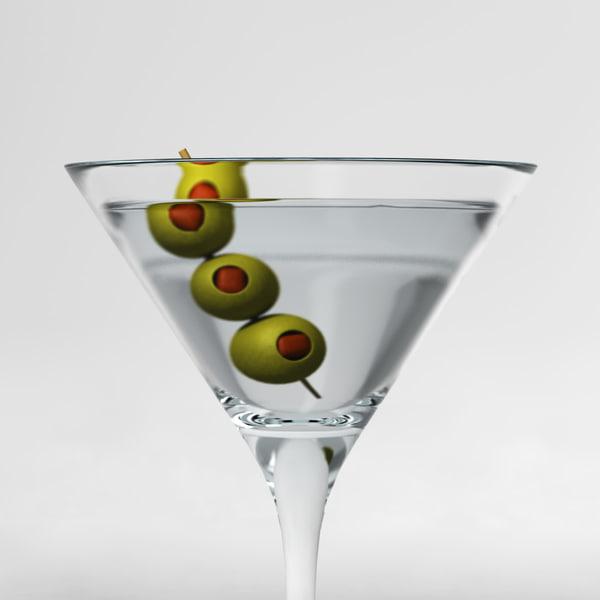 Dry Martini 3D Models
