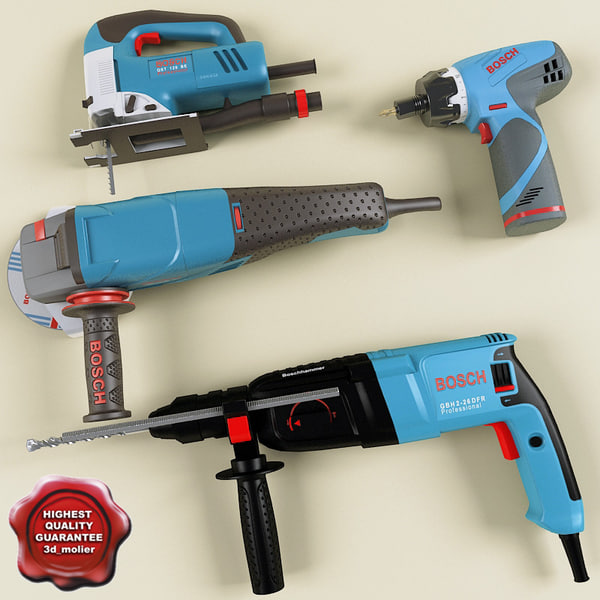 Power tools collection 3D Models