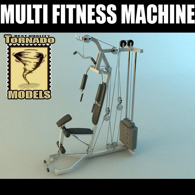 Multi Fitness Machine 3