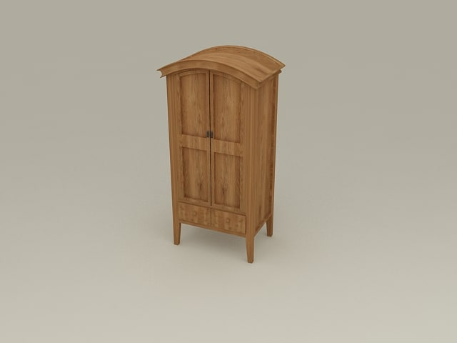 Chest of Drawers from Nimbus Bedroom Furniture Set - High Quality Furniture 3d model