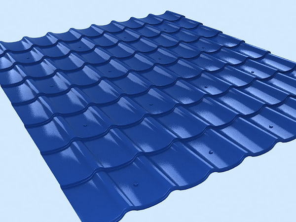 Tile for roof 3D Models