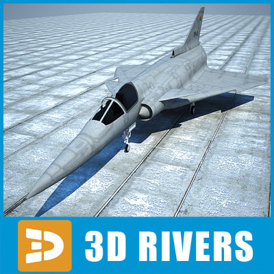 Kfir C 10 by 3DRivers 3D Models