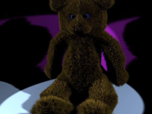 Fluffy Teddy Bear.max