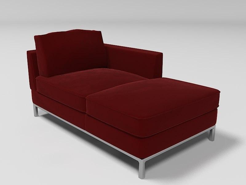 3ds max arild sofa. Black Bedroom Furniture Sets. Home Design Ideas