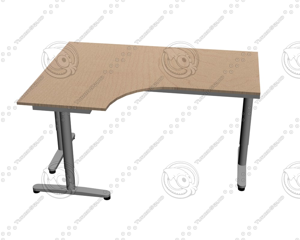 maya ikea galant desk left