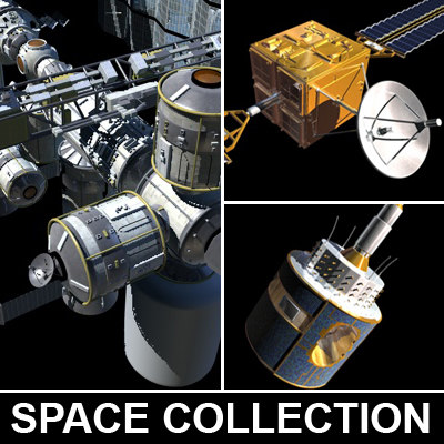 Space Collection 3D Models