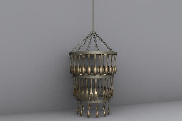tripletier_spoons_HiPoly_D.obj 3D Models
