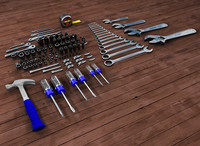 open-end wrench 3D models