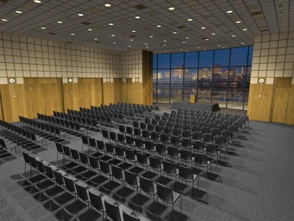 Auditorium 3D Models