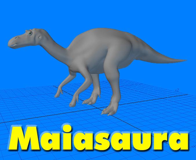 Maiasaura Dinosaur
