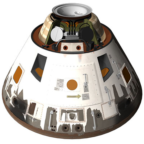 Apollo Command Module ELS 3D Models