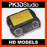 Sony PSP go 3D models