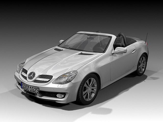2008 Mercedes Benz SLK
