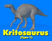 Kritosaurus 3D models