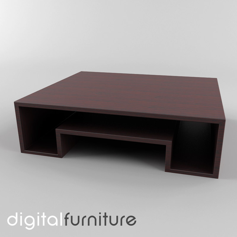 3d coffee table model for Spl table 99 00