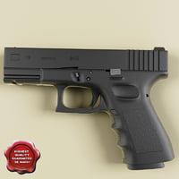 Glock 19 3D models
