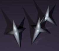caltrop 3D models