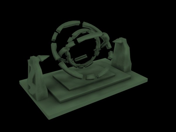 Ancient Warpgate 3D Models