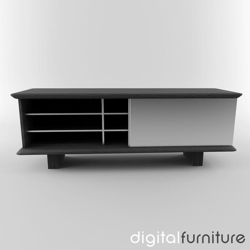 sideboard digital 3ds -> Sideboard Tv Möbel
