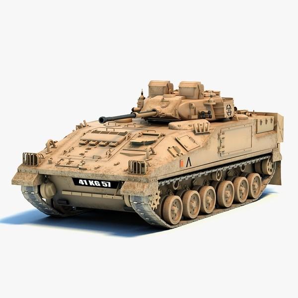 Warrior IFV 3D Models