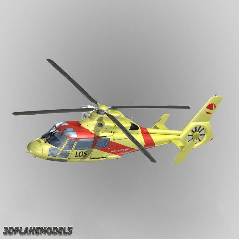Eurocopter AS365 Dauphin II Lufttransport