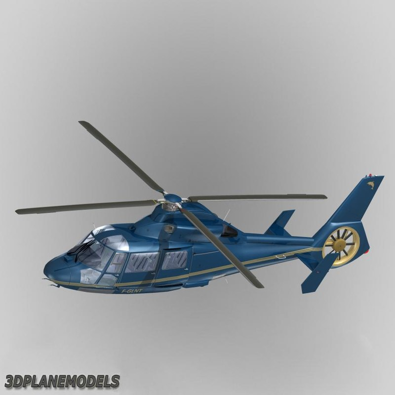 Eurocopter AS365 Dauphin II Private livery 2