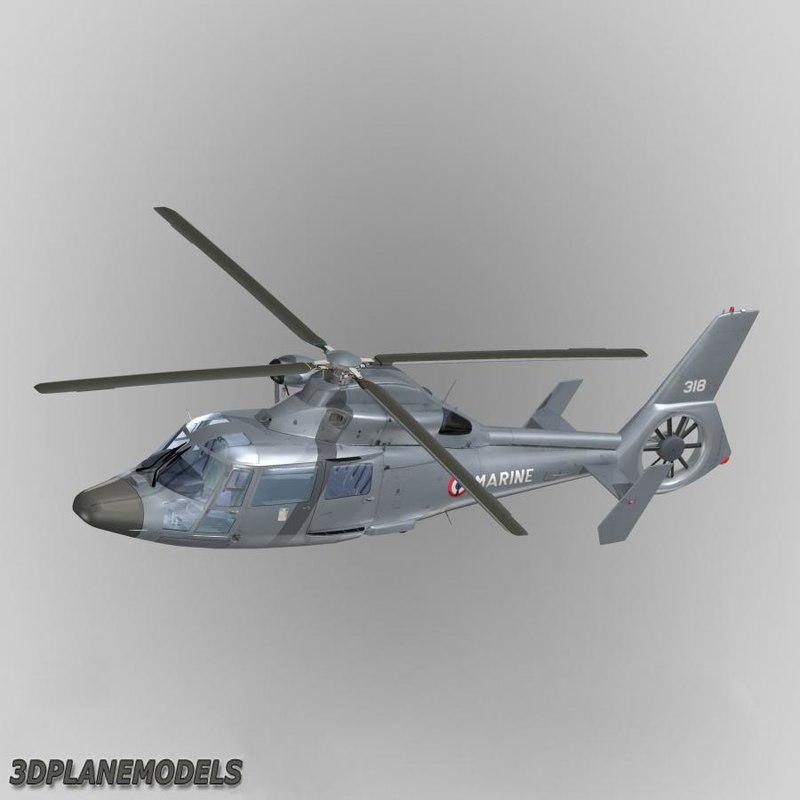 Eurocopter AS365 Dauphin II France Navy