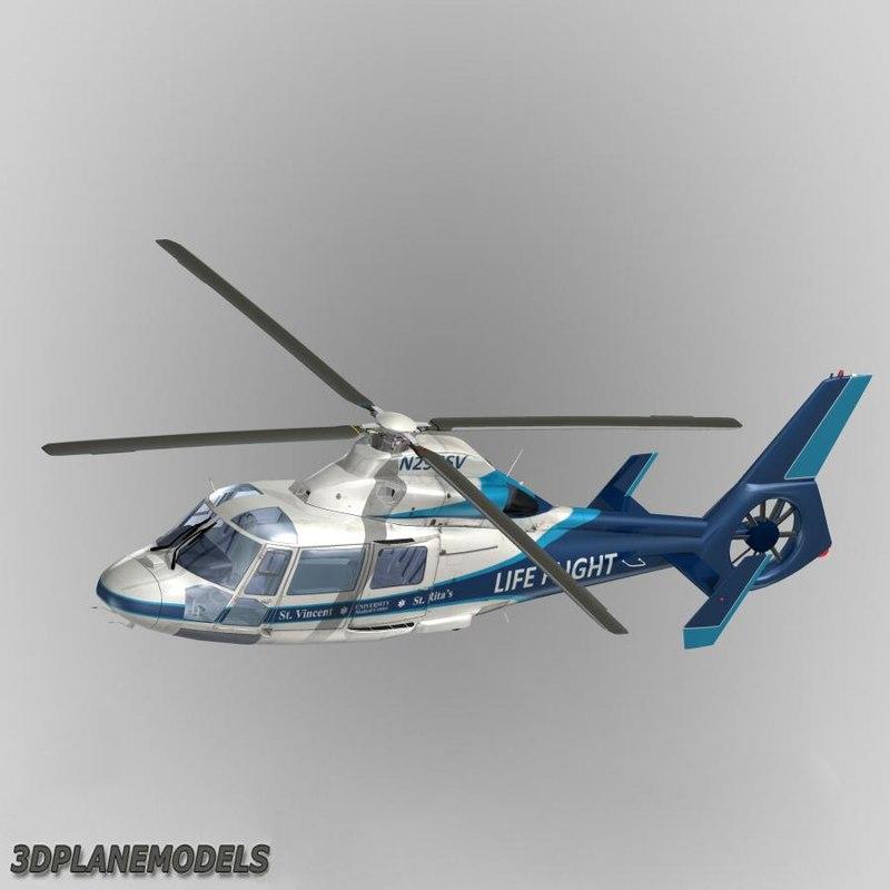 Eurocopter AS365 Dauphin II Life Flight