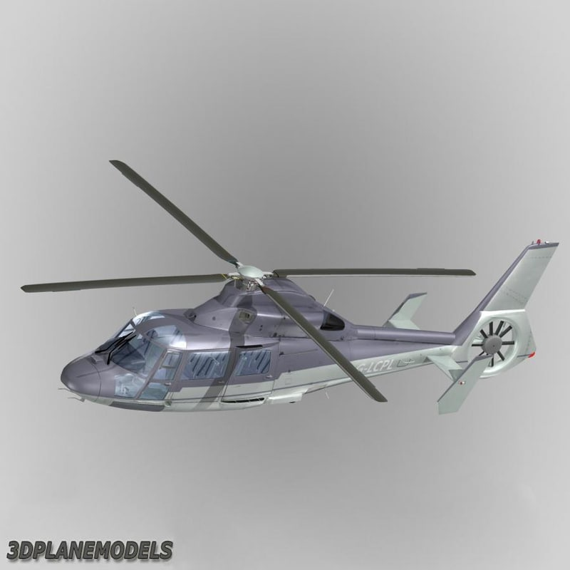 Eurocopter AS365 Dauphin II Private livery 1